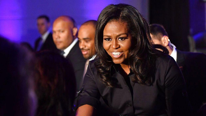 Michelle Obama er gift med USA's tidligere præsident, Barrack Obama, og boede i Det Hvide Hus fra 2009 til 2017.