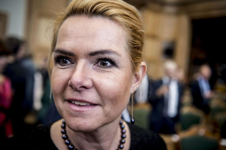Inger Støjberg (V).