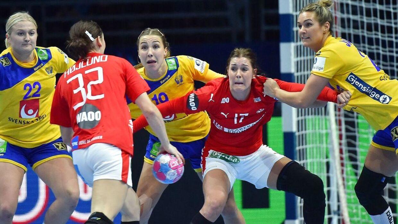 Mie Højlund spillede godt mod Sverige, og det er en kamp, hun vil huske længe.