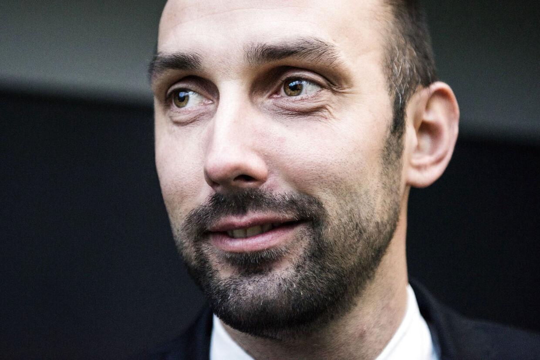 Ny direktør for Nordea Kredit, 35-årige Peter Smith.