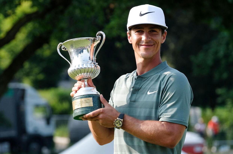 Thorbjørn Olesen vandt i juni den 75. udgave af European Tour-turneringen, Italian Open, i Brescia.