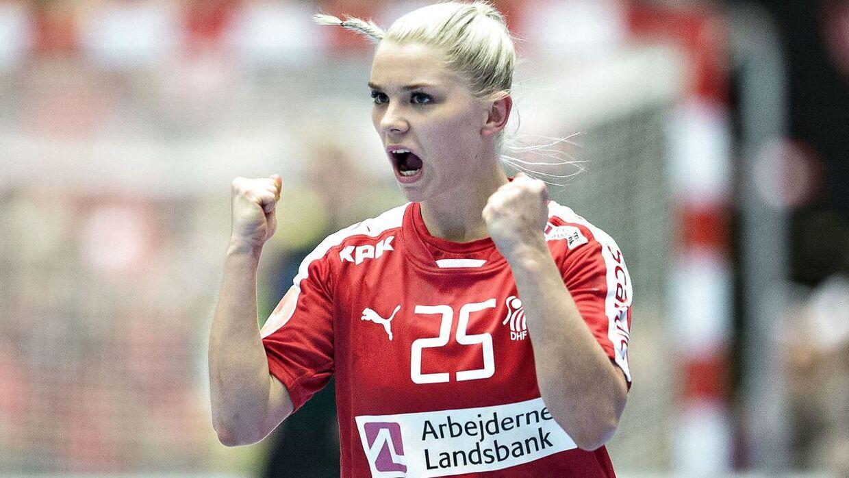 Trine Østergaard har været med på landsholdet i en del år og har oplevet lidt af hvert.