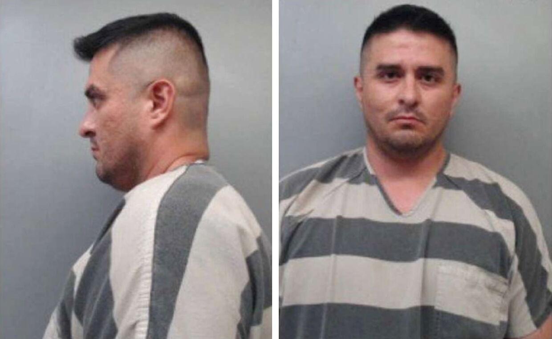 Juan David Ortiz efter han blev arresteret for mordet på fire prostituerede i Laredo, Texas.