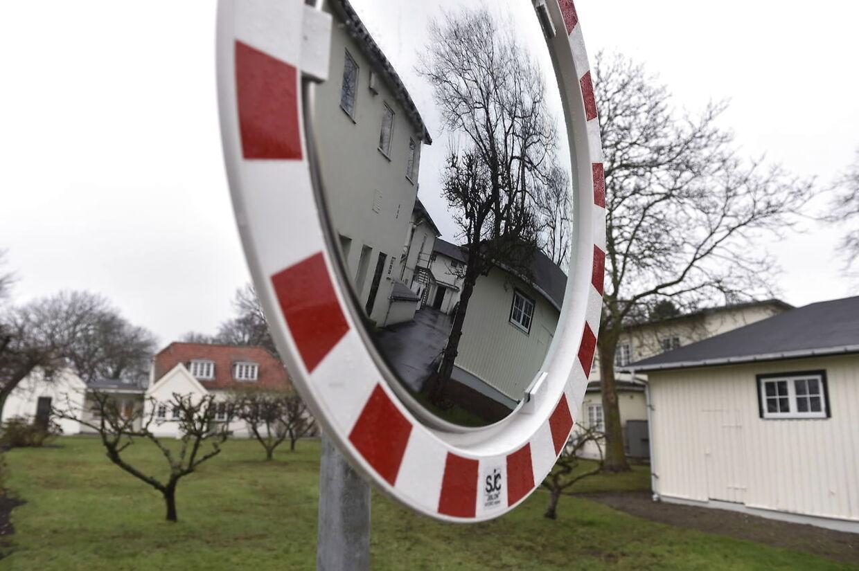 Lindholm nær Kalvehave og Stege på Sydsjælland, torsdag den 6. december 2018. Fredag præsenterede regeringen og Dansk Folkeparti en aftale om at flytte udviste kriminelle fra Kærhovedgård til øen Lindholm ved Stege.