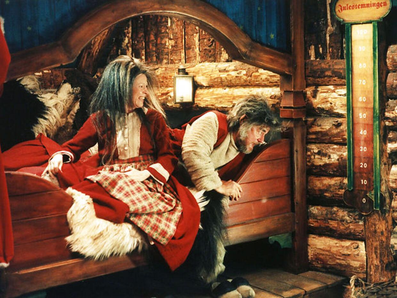 Rotterne, staldnisserne og 'den dårlige stemning' lå gemt under julemandens seng i 'Krummernes ju'.