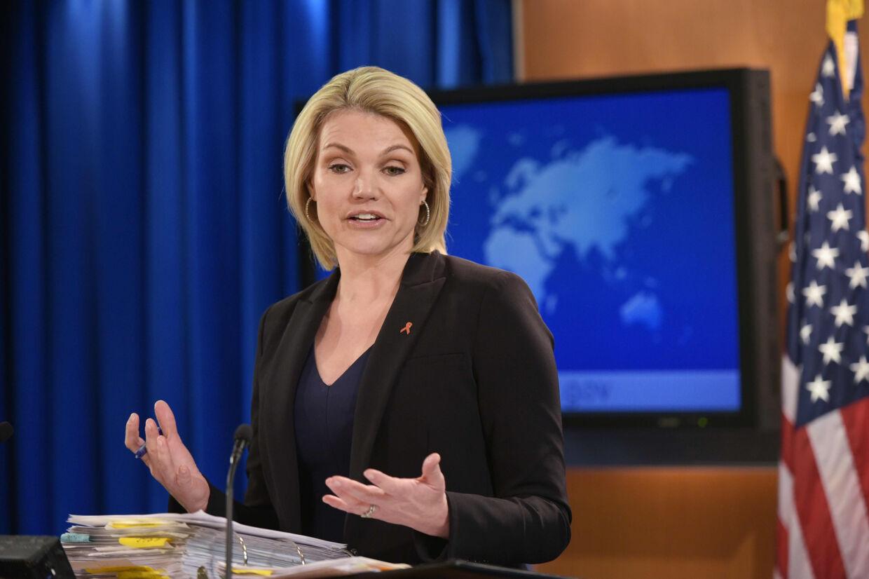 Heather Nauert, der har en fortid på Fox News, bliver ny amerikansk FN-ambassadør, skriver Bloomberg. Mandel Ngan/Ritzau Scanpix