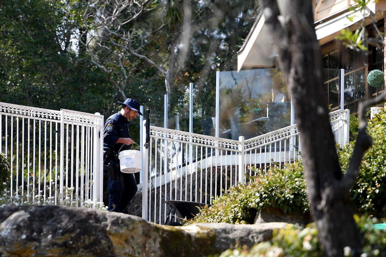 Efter at have genoptaget mordsagen har politiet gennemført tekniske undersøgelser på den adresse, hvor Chris og Lynette Dawson boede, da hun forsvandt for 36 år siden.