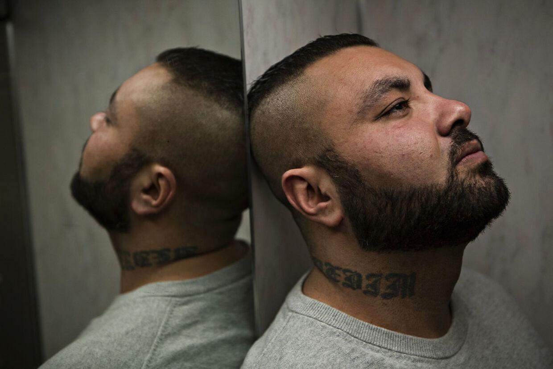 (ANedim Yasar, tidligere bandemedlem fotograferet den 3. februar 2017. (Foto: Tobias Nicolai/Ritzau Scanpix)