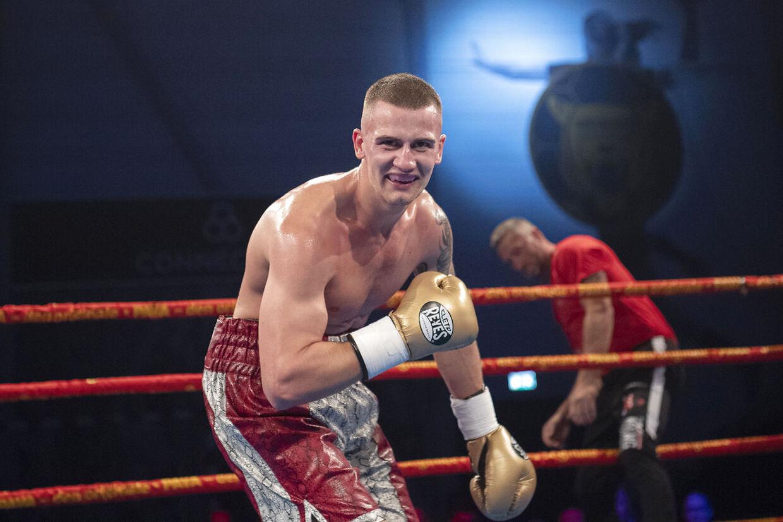 Oliver Meng er hovednavn, når Danish Fight Night kommer til Falster. (Foto: THOMAS SJØRUP/Ritzau Scanpix)