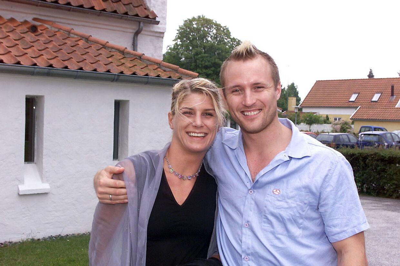 Rikke Hørlykke og Klavs Bruun Jørgensen blev gift i 2000. Sammen har de to børn.