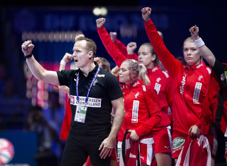 Klavs Bruun er i gang med sin fjerde slutrunde for Danmark.
