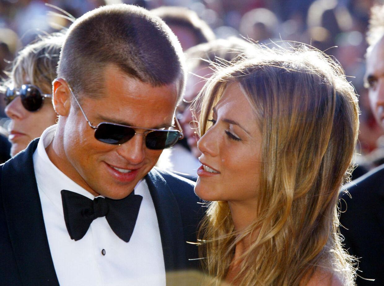 Skuespiller Brad Pitt og skuespiller Jennifer Aniston var gift fra 2000-05.