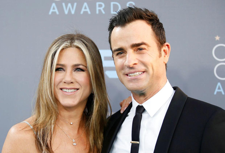 Jennifer Aniston og Justin Theroux var gift fra 2015-17.