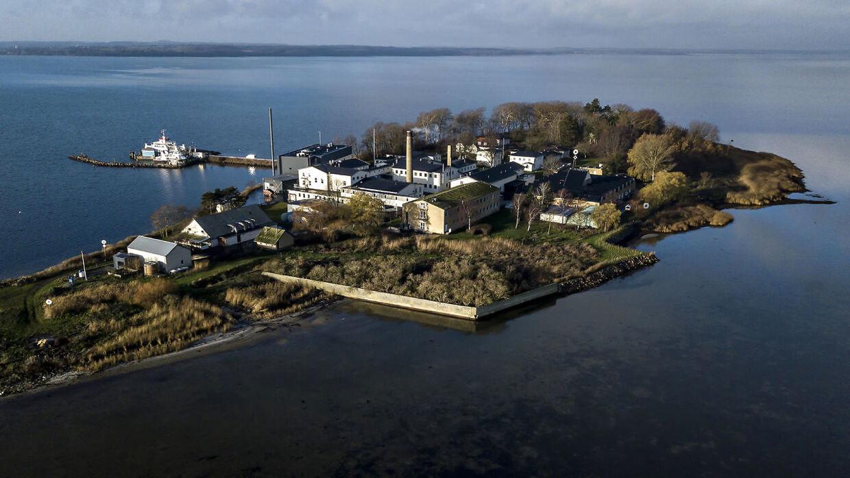 Udviste kriminelle udlændinge skal ud på øen Lindholm.
