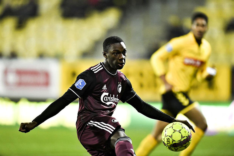 Mohamed Daramy i sin Superliga-debut mod AC Horsens.