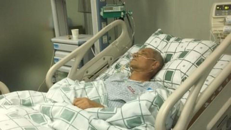 Behandlingen, som Bent Jensen har modtaget i Kina, kaldes NanoKnife. NanoKnife findes kun som forsøgsbehandling i Danmark til kræft i bugspytkirtlen. Foto: privat.