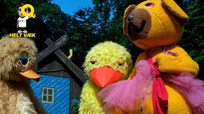 Bamse og Kylling (og Ælling) har begejstret børn og barnlige sjæle i årtier. Men ikke alle ved, hvem der er inde i dem. (Arkivfoto/Scanpix)