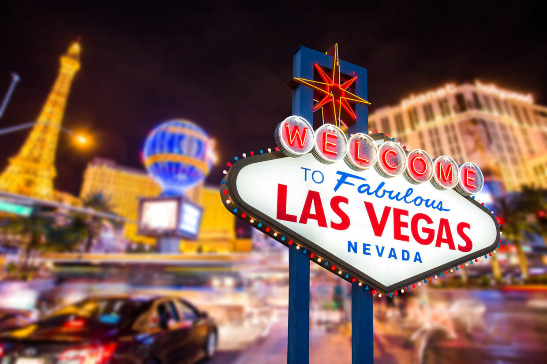 Det berømte Las Vegas.