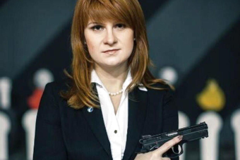 Spion med en mission. Maria Butina vil nu samarbejde med de amerikanske myndigheder.