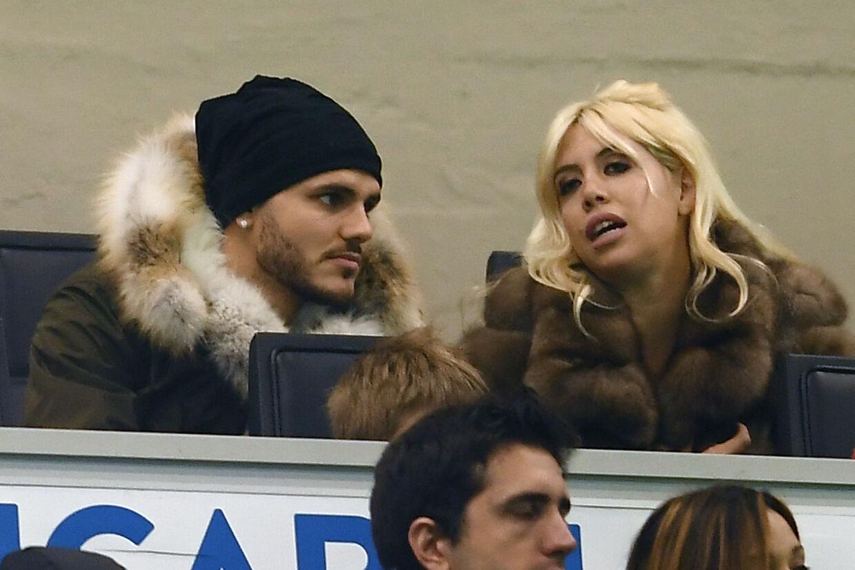 Wanda Nara er gift med Inters farlige angriber, Mauro Icardi.