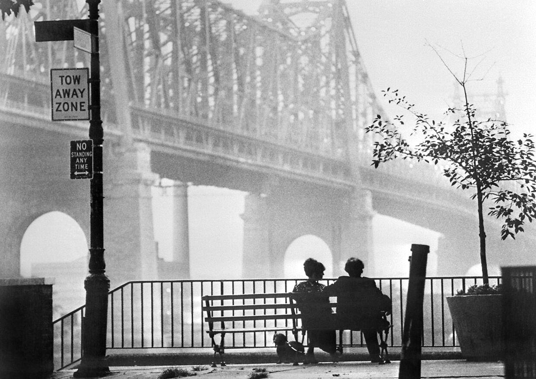 En scene fra filmen 'Manhattan' fra 1979.