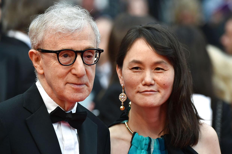 Woody Allen med sin kone, Soon-Yi Previn.
