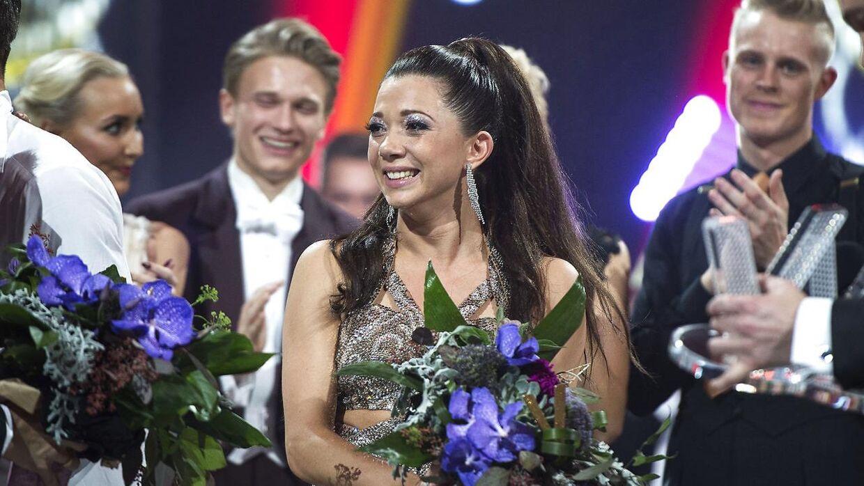 Sarah Mahfoud får chancen i en titelkamp. (foto: Henning Bagger / Scanpix 2016)