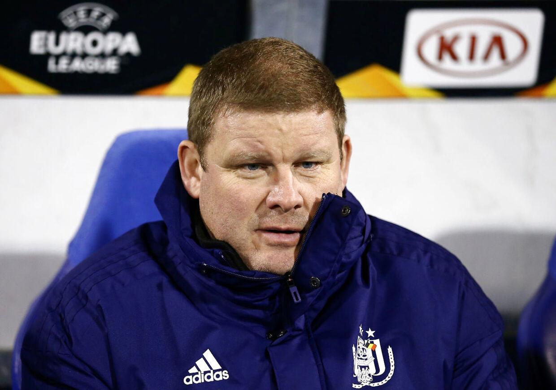 Hein Vanhaezebrouck blev fyret i den belgiske storklub Anderlecht søndag aften. Hans afløser kan blive dansk