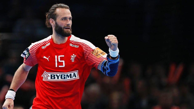 Jesper Nøddesbo spiller for Bjerringbro-Silkeborg og for det danske håndboldlandshold.