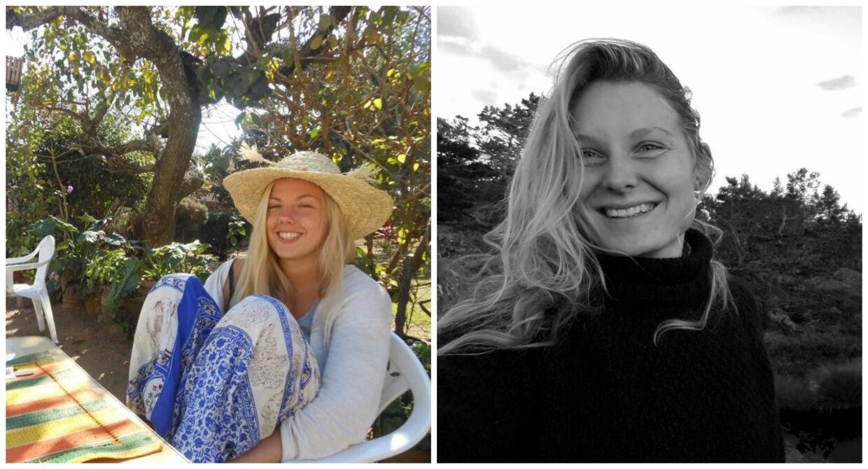 Norske Maren Ueland (tv.) og Louisa Vesterager Jespersen (th.) blev fundet dræbt. Foto: Facebook.