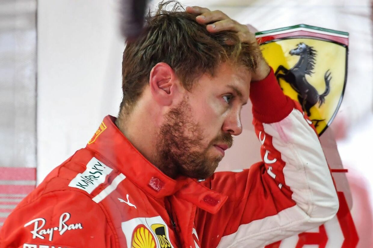 Sebastian Vettel får sin sag for i 2019. (Photo by Nelson ALMEIDA / AFP)