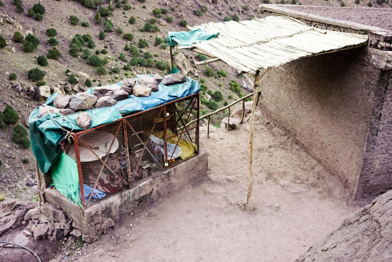 Den lille kiosk, hvor vandrere kan få en forfriskning, ligger et stenkast fra området, hvor de to kvinder camperede.