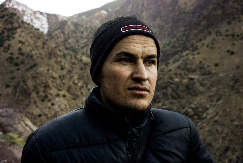 Hussain Baaki, 27 år og guide.