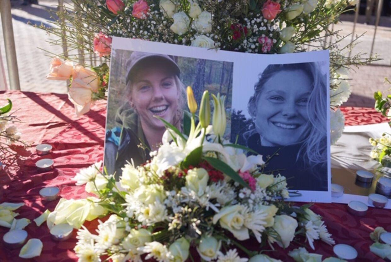 Billede af de to myrdede kvinder. Foto: Alex Luka