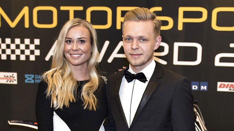 Kevin Magnussen og kæresten Louise Gjørup har kendt hinanden siden 2015, hvor Kevin Magnussen blev smidt ud på reservebænken hos McLaren.