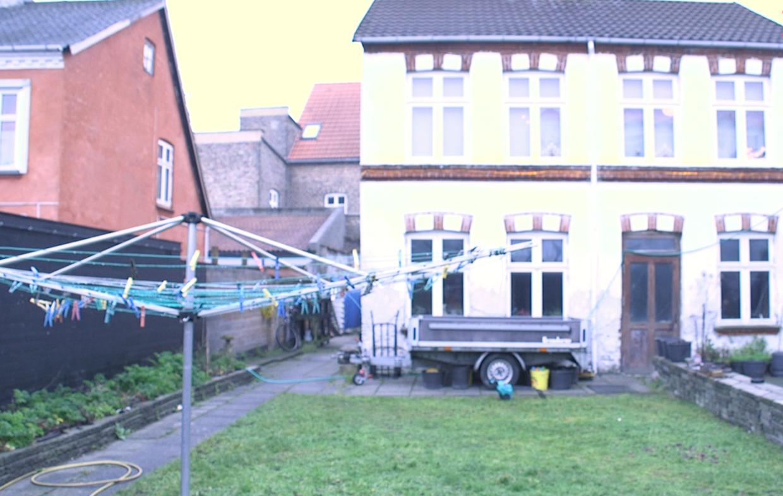Henrik Vibe Hastrups hus, som bliver ramt af en grundskyldsstigning på 600 procent.