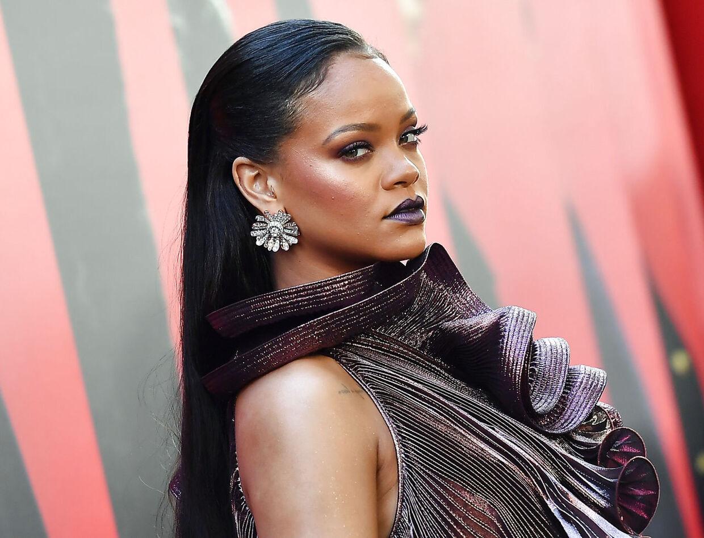 Rihanna i juni til premieren på filmen Ocean's 8, som hun medvirker i.