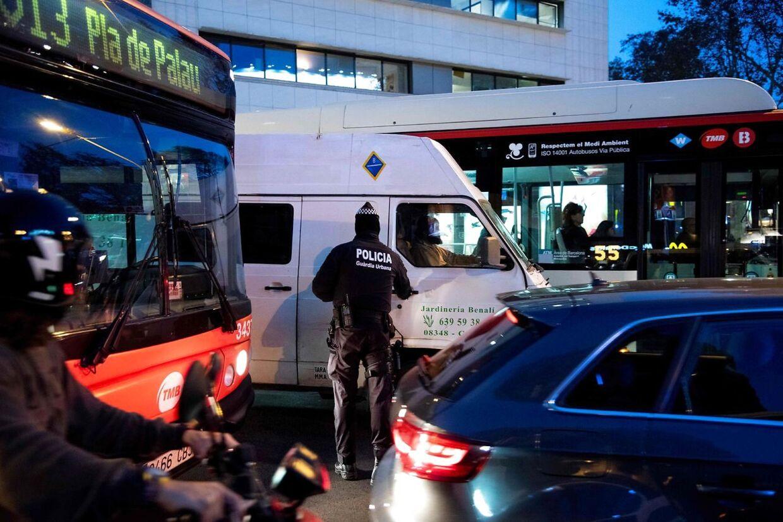 Et potentielt terrorangreb satte catalansk politi i alarmberedskab 24. december.