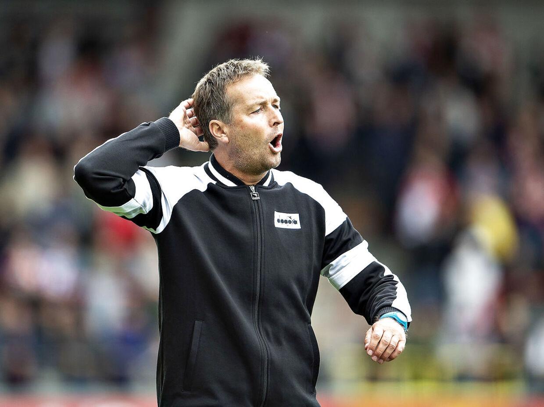 Kasper Hjulmand kan fortsat ende som træner i den belgiske storklub Anderlecht. Den danske træner er dog ikke belgiernes foretrukne til jobbet. (Foto: Henning Bagger/Ritzau Scanpix)