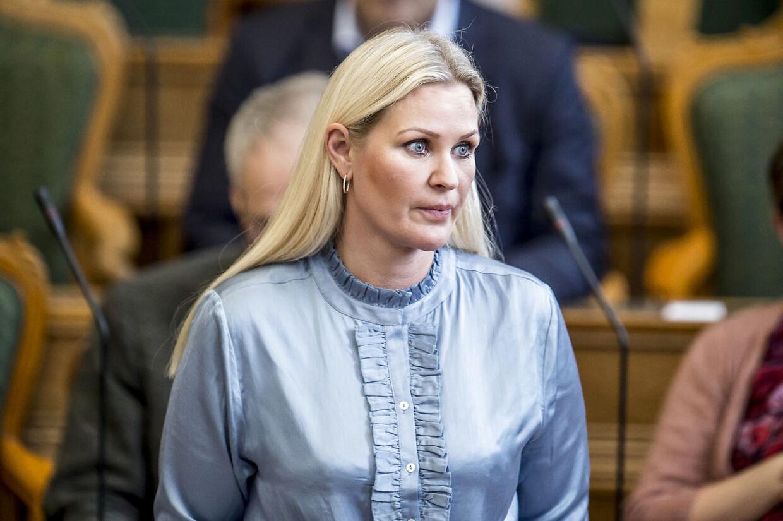 Venstres politiske ordfører Britt Bager synes ikke, der er noget odiøst i, at vælgerne mener, partiet har et stort fællesskab med Dansk Folkeparti.