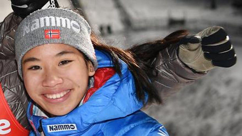 Thea Kleven blev kun 17 år. (Felix Kästle / dpa / AFP)