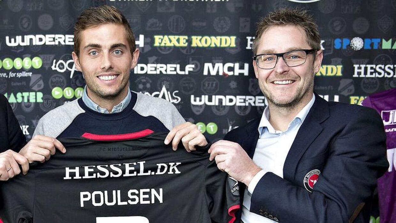 Jacob Poulsen og Claus Steinlein.