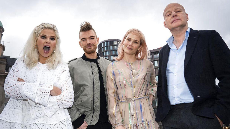 Lars Ankerstjerne (i midten) er blevet overrasket over, hvor seriøst alle deltagerne i X Factor tager det - også dem, der ikke synger særlig godt. Det er producerens første sæson som dommer i talentshowet, hvor han skal sidde ved dommerbordet med Oh Land og Thomas Blachman, mens Sofie Linde (tv.) styrer showets gang.