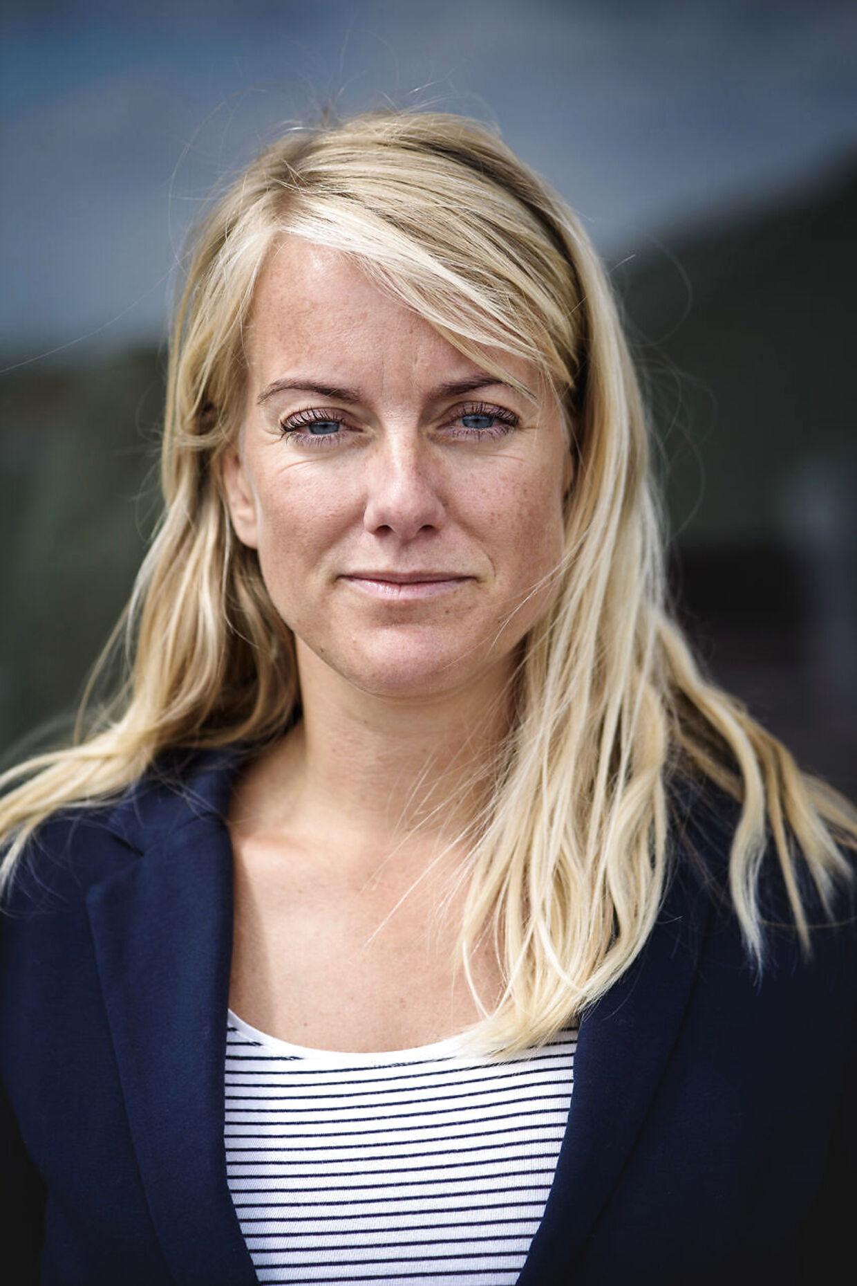 Nye Borgerliges formand Pernille Vermund, er glad for sin nye kandidat.