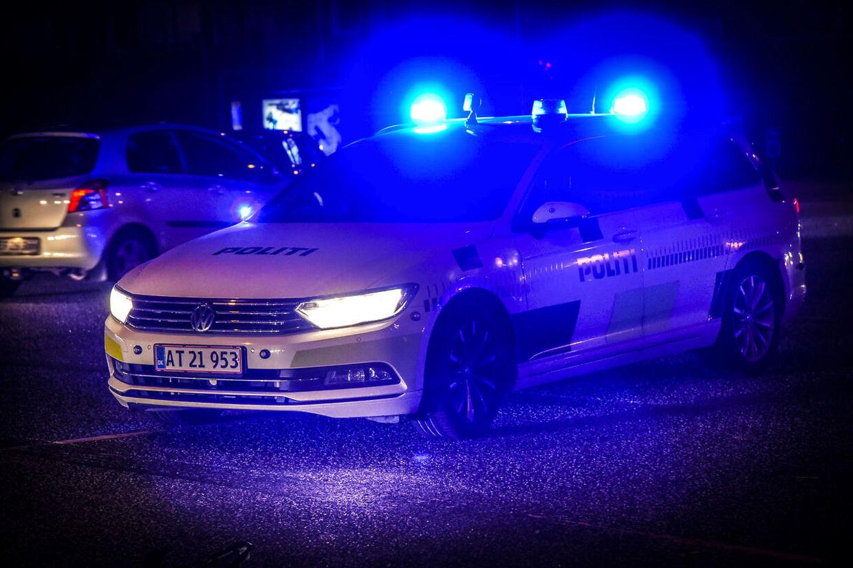 Politiet rykkede nytårsnat ud til skuddrama ved diskotek i Nordsjælland. (Arkivfoto: Kim Haugaard/Scanpix 2017)