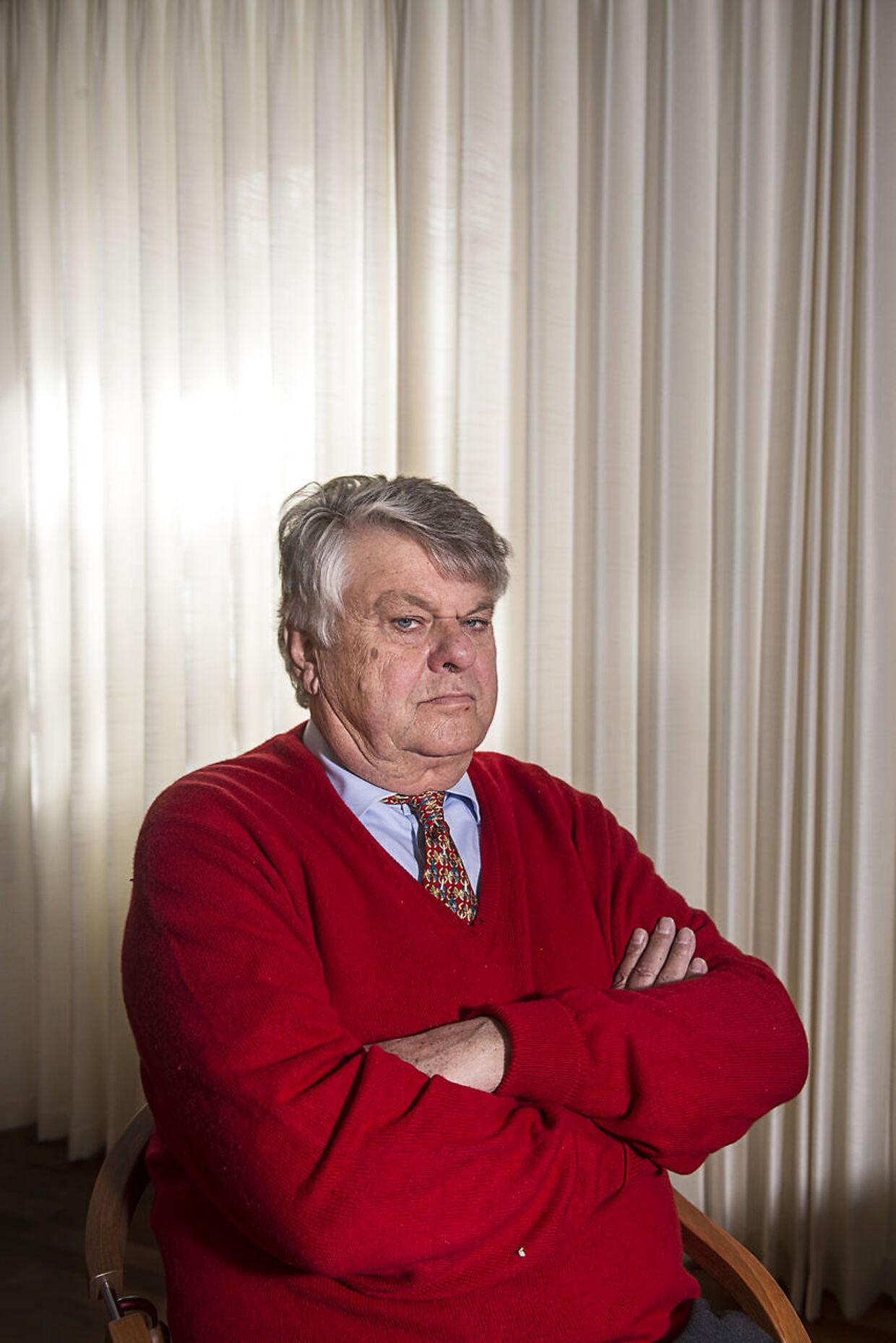 Den 75-årige advokat og rigmand Christian Kjær er medejer af cementkoncernen FLSmidth & Co. A/S. Arkivfoto.