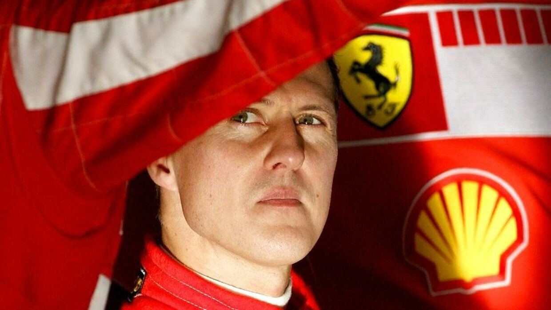 Kun Schumachers næreste ved, hvordan han har det. Her fotograferet i 2006 i Jerez. (Photo by JOSE LUIS ROCA / AFP)