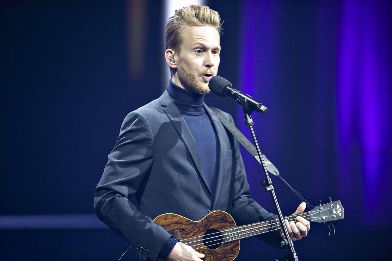 Huxi Bach optrådte ved Kronprinsparrets prisuddeling i Musikkens Hus i Aalborg i november.