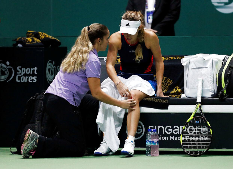 Caroline Wozniacki plages af kronisk leddegigt.
