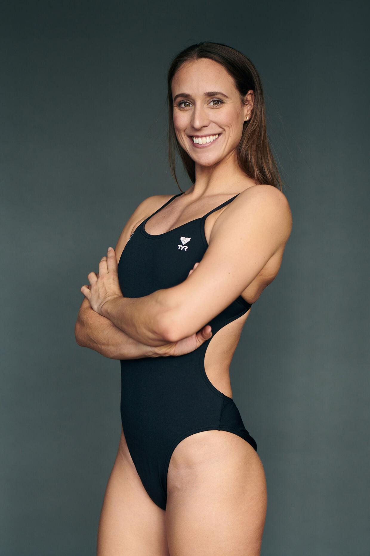 Rikke Møller Pedersen er 29 år. Hun er verdensmester, verdensrekordholder og OL-medaljetager.